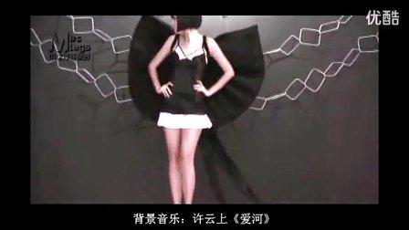 广州内衣秀美女模特 C