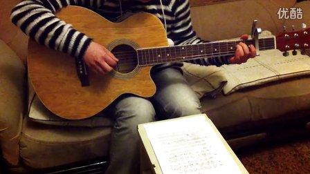 【翻唱】二十岁的某一天(花粥) 吉他弹唱