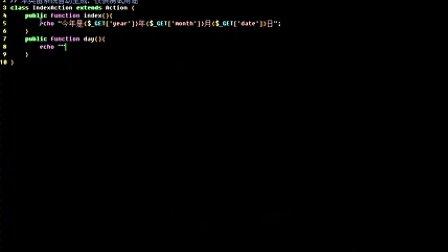 24.ThinkPHP 3.1.2 URL 2