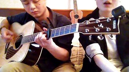 爱你 Kimberley(陈芳语)  (翻糖花园)片尾曲 吉他弹唱