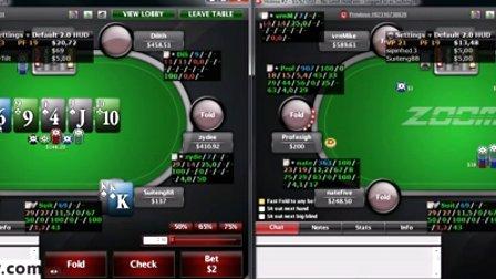 德州扑克教学: Zoom NL200牌局评论视频