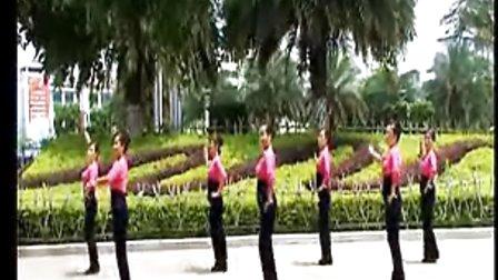北雀广场舞中国月亮背面