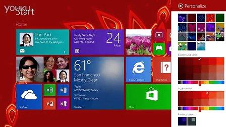 微软Windows 8.1预览版官方宣传片