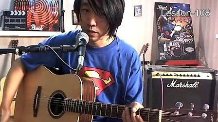 108《原声乐队的排练方法》左轮民谣吉他自学教程