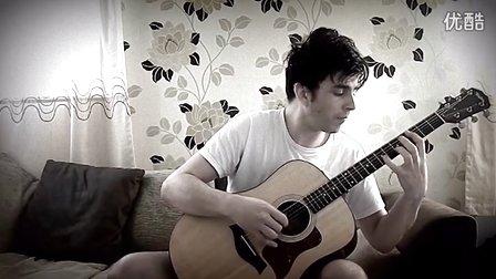 巴西指弹演奏家Fabio Lima -《七龙珠GT》主题曲【HD】