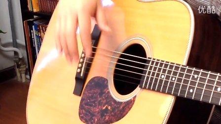 玄武吉他指弹教学 押尾桑风之诗Wind song第一部分