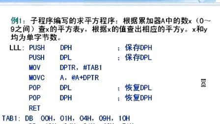 哈工大单片机第16讲  MCS-51汇编语言<font style='color:red;'>程序设计</font>(3)