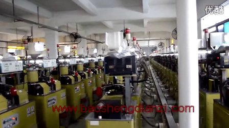碳膜电阻刻槽生产过程-深圳宝盛电子