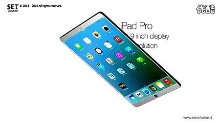 超轻薄12.9英寸iPad Pro概念视频
