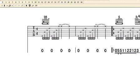 征服制作13-和弦图上显示手指信息-心动吉他muse2.7