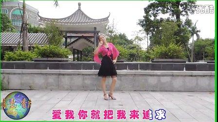2013年楠楠广场舞爱我你就把我来追求 走你2013广场舞 广场舞廖弟专图片
