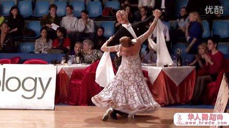 2014年莫斯科冬季之星体育舞蹈公开赛半决赛快步Яшан Олег - Коровина Анна, 12 Quickstep