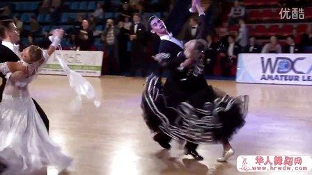 2014年莫斯科冬季之星体育舞蹈公开赛半决赛狐步Гиниятуллин Аяз - Гиниятул