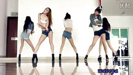 韩国美女舞团waveya C