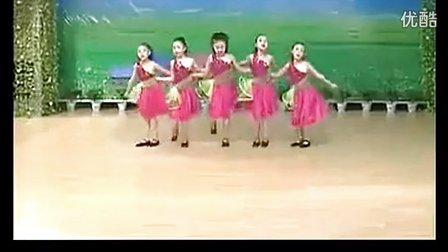 儿童舞蹈视频歌声与微笑