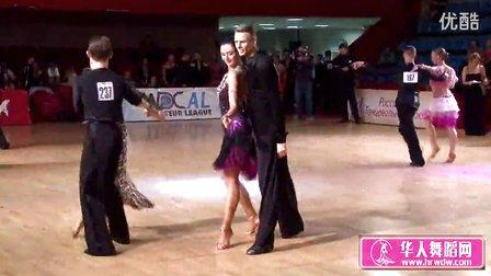 2014年莫斯科之星体育舞蹈锦标赛决赛桑巴Пешкун-Атаманцева