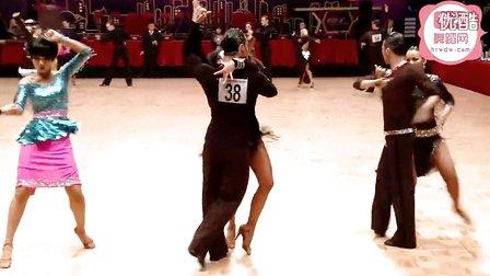 2014年WDSF世界体育舞蹈公开赛香港站缅甸万丰国际老百胜第一轮斗牛Mariniello - Casini