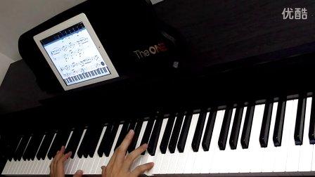 e ONE智能钢琴 电子琴琴键贴88键 61键琴谱贴 钢琴琴贴