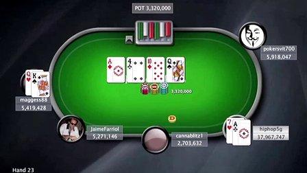 中国扑克人:扑克之星周日百万赛视频Sunday Million2014-6-22