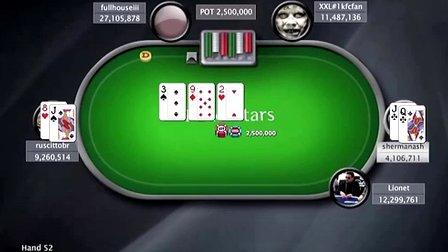 中国扑克人:扑克之星周日百万赛视频Sunday Million2014-5-25