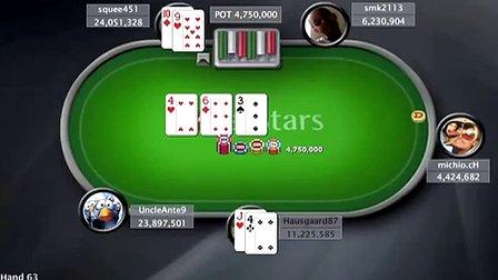 中国扑克人:扑克之星周日百万赛视频Sunday Million2013-8-8
