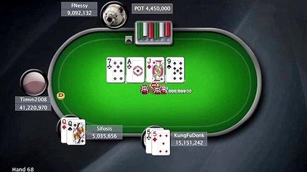 中国扑克人:扑克之星周日百万赛视频Sunday Million2014-1-26