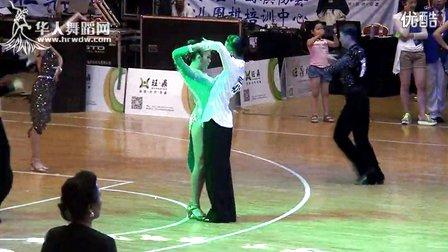 2014年第12届全国青少年体育舞蹈锦标赛业余青年十项全能组L决赛斗牛池洋 樊家佑431号00244