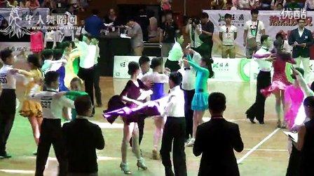 2014年第12届全国青少年体育舞蹈锦标赛业余少年I组单项恰恰预赛5