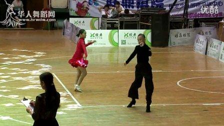 2014年第12届全国青少年体育舞蹈锦标赛少年I组单项C决赛恰恰赵子健 徐子怡