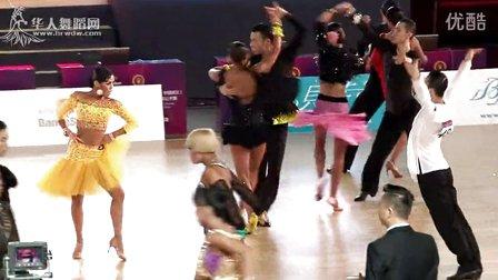 2014年中国体育舞蹈公开赛(武汉站)A组缅甸万丰国际老百胜第四轮斗牛
