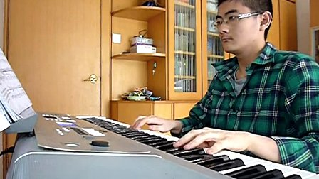 月亮代表我的心(电子琴演奏)_tan8.com