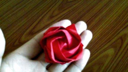 折纸玫瑰花大全视频教程