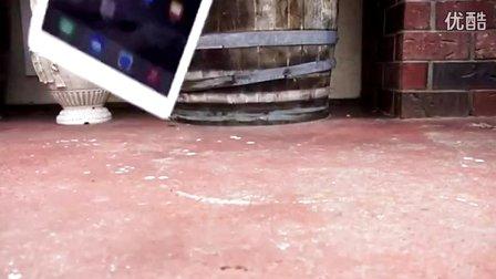 iPad Air 2跌落測試:這也太脆了!