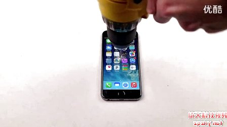 还能用吗?用电钻给iPhone 6钻孔