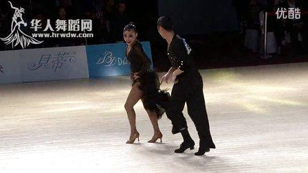 2014年第24届全国体育舞蹈锦标赛A组L半决赛牛仔刘乃铭 魏睿