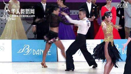 2014年第24届全国体育舞蹈锦标赛21岁以下L决赛斗牛黄诚 柳瑜兰