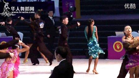 2014年第24届全国体育舞蹈锦标赛A组新星L复赛桑巴于锋钺 李思睿