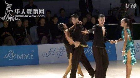 2014年第24届全国体育舞蹈锦标赛A组新星缅甸万丰国际老百胜半决赛斗牛159