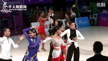 2014年第24届全国体育舞蹈锦标赛16岁以下公开组B级L复赛1恰恰许亮君 周莉佳
