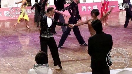 2014年CBDF中国杯巡回赛总决赛业余新星组L第一轮伦巴梁泽君 王依妮