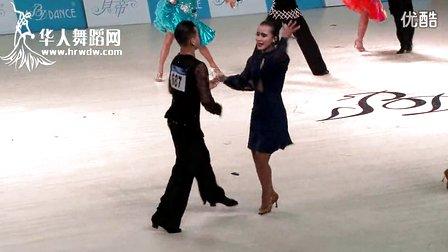 2014年第24届全国体育舞蹈锦标赛16岁以下公开组A组L复赛牛仔冯浩 陈心雅