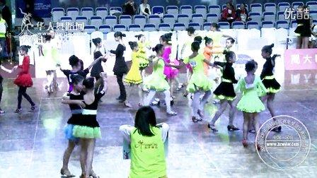2014年CBDF中国杯巡回赛总决赛业余12岁以下女双新人A组L决赛恰恰 (3)