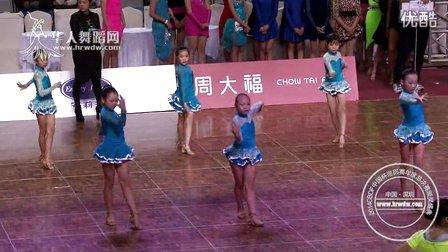 2014年CBDF中国杯巡回赛总决赛业余12岁以下女子单人银牌6人组决赛舞琳舞蹈沙井中心