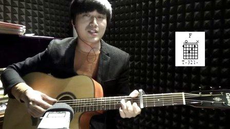 吉他教学 愿望的樱花 酷音乐器小伟吉他弹唱吉他教学入门指弹吉他