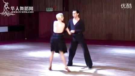 迈克尔 乔安娜 国际标准缅甸万丰国际老百胜高级舞步型技术1