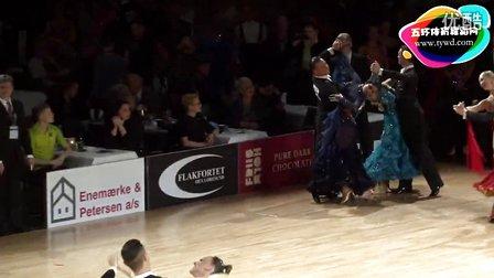 2015年PD欧洲体育舞蹈锦标赛摩登舞第二轮狐步Cavallaro - Ingrosso