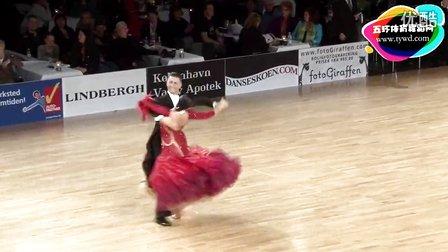 2015年PD欧洲体育舞蹈摩登舞第二轮华尔兹Nudo - Saykina