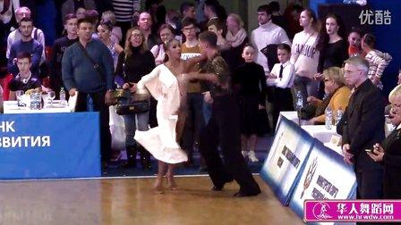 2015年俄罗斯青年体育舞蹈锦标赛决赛牛仔Самохин Вячеслав - Телешова Полина