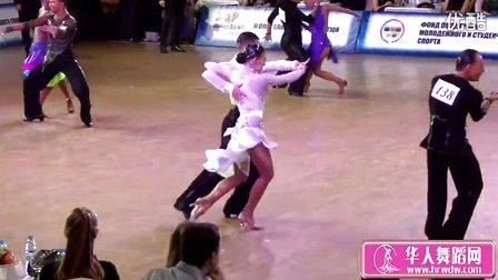 2015年俄罗斯青年体育舞蹈锦标赛半决赛斗牛Ефанин Артем - Дергунова Анна