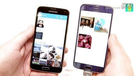 Galaxy S6与Galaxy S5运行速度对比